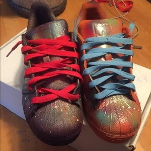 WOMENS SHELL TOES ADIDAS, size 7